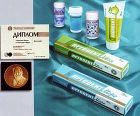 Средства гигиены Арго, зубные пасты