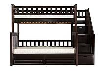 Двухъярусная кровать детская Виолетта 2