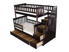 Двухъярусная кровать детская Виолетта 2, фото 2