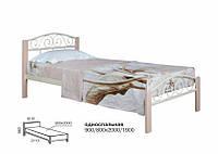 Кровать Элис Люкс Вуд 800/900х2000/1900