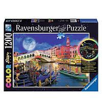 """Пазл-светящийся """"Полнолуние в Венеции"""" 1200 элементов, Ravensburger"""