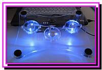 Охлаждающая подставка-кулер для ноутбука, подсветка!Опт
