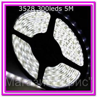Лента светодиодная 300 SMD3528 - 5 метров в Силиконе!Опт