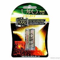 Аккумулятор UFO PHOTO AAA 1000mAh для фотоаппарата камеры 1,2 В фото камера батарейка аккумуляторы