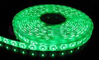Лента зеленая светодиодная 300 SMD5050 Green - 5 метров в Силиконе!!Опт