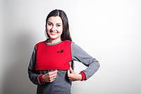 Трикотажный свитшот для беременных и кормящих мам, Аист