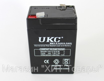 Аккумулятор BATTERY GD 640 6V 4A!Опт, фото 2