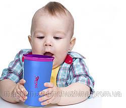 Стакан, кружка, детская чашка непроливайка Wow Cup!Опт, фото 3