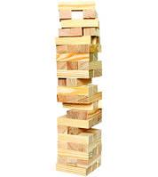 """Гра настільна """"Дженга"""", масив дерева (48 брусків)(23х7х7 см) ( 26069)"""