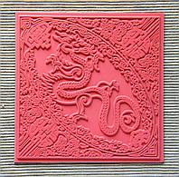Коврик текстурный Dragon Дракон,с красивой глубокой текстурой, удобный универсальный размер