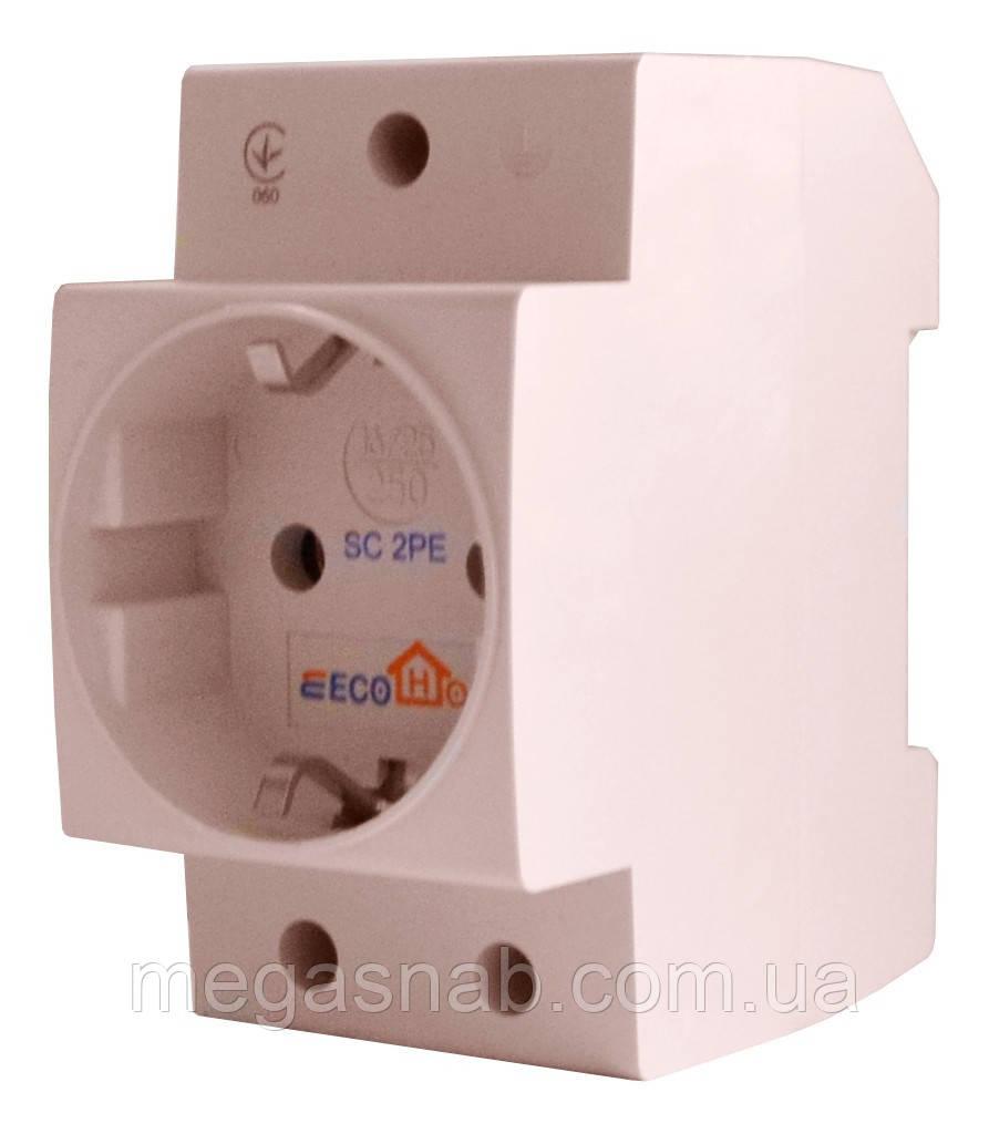 Розетка с заземление на DIN-рейку (SC 2PE) ECOHOM  продажа, цена в ... c61515c6f15