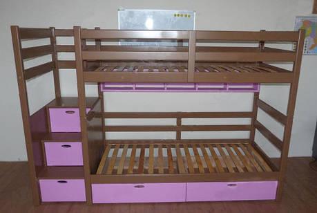 Двухъярусная кровать детская Диана 1, фото 2