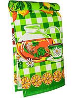 Кухонное вафельное полотенце (Зеленый)