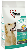 1st Choice Adult Dog Light с курицей, 12 кг