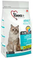 1st Choice Adult Cat Healthy Skin & Coat с рыбой, 2,72 кг