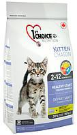 1st Choice Kitten с курицей, 907 гр
