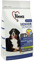 1st Choice Senior Dog 6+ Medium & Large Breeds с курицей, 7 кг