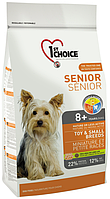 1st Choice Senior Dog 8+ Miniature & Small Breeds с курицей, 7 кг