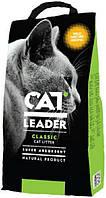 801359 Cat Leader Wild Nature супер-впитывающий с запахом, 10 кг