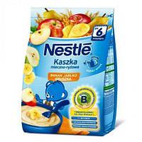 Каша молочная рисовая с бананом, яблоком, грушей и бифидобактериями Nestle 230 г