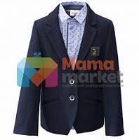 Школьный пиджак для мальчика Baby Angel 805, цвет черный