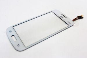 Тачскрин сенсор Samsung G350 E белый CHIPONE без окошка камеры