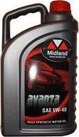 Avanza Моторное масло 5W-40 Motor Oil 4л