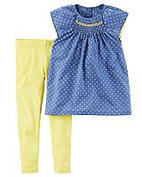 Комплект для девочки Carters Горошек Carters A40588