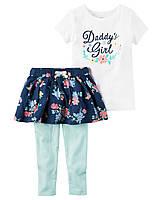 Комплект для девочки Carters Папина девочка Carters A40583