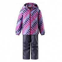 Комплект демисезонный, куртка, брюки на подтяжках для девочки Lassie by Reima  723703R, цвет 5691