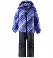 Комплект демисезонный, куртка, брюки на подтяжках для мальчика Lassie by Reima  723702, цвет 6691