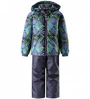 Комплект демисезонный, куртка, брюки на подтяжках для мальчика Lassie by Reima  723702, цвет 8812