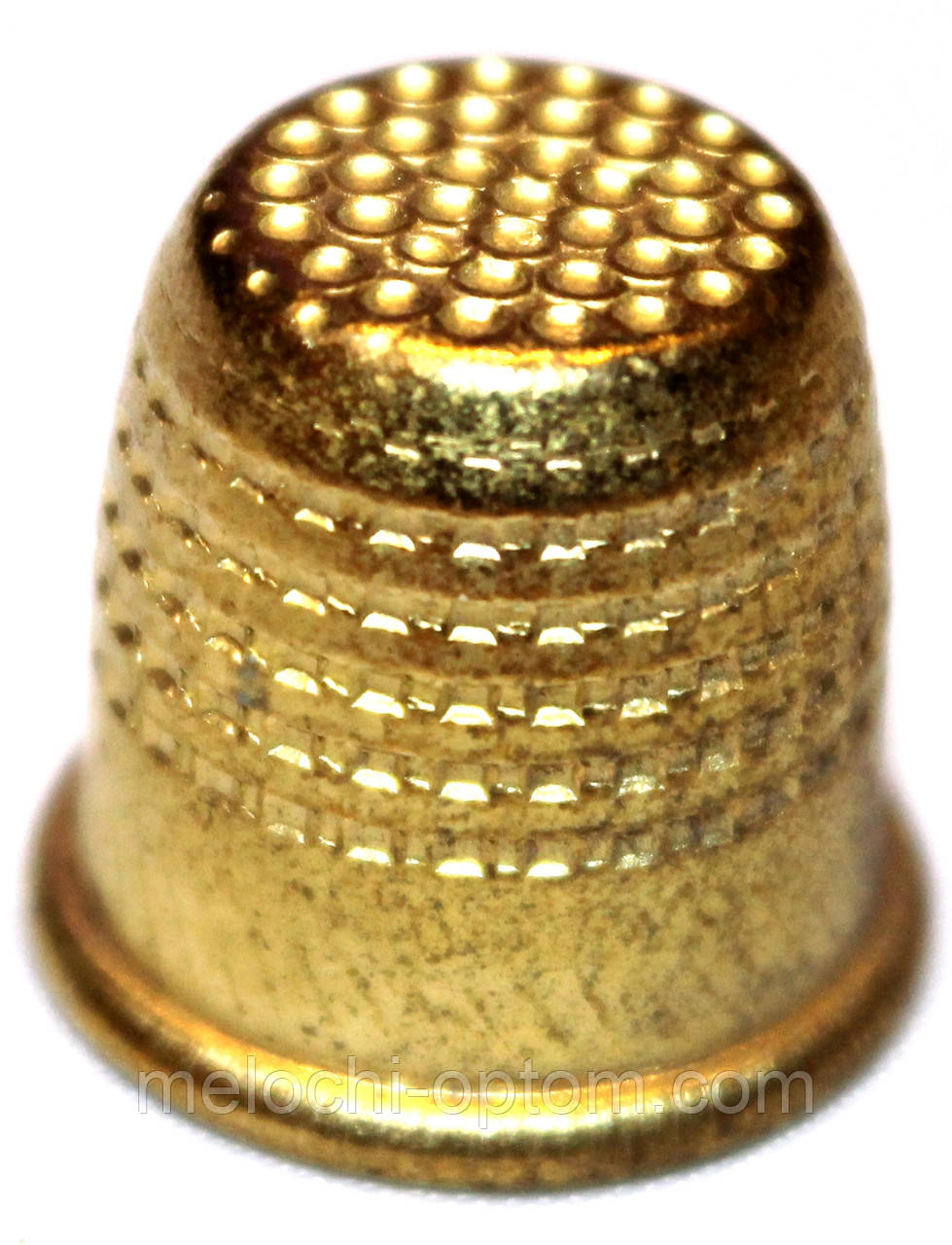 Наперстки латунные №16 для ручного шитья