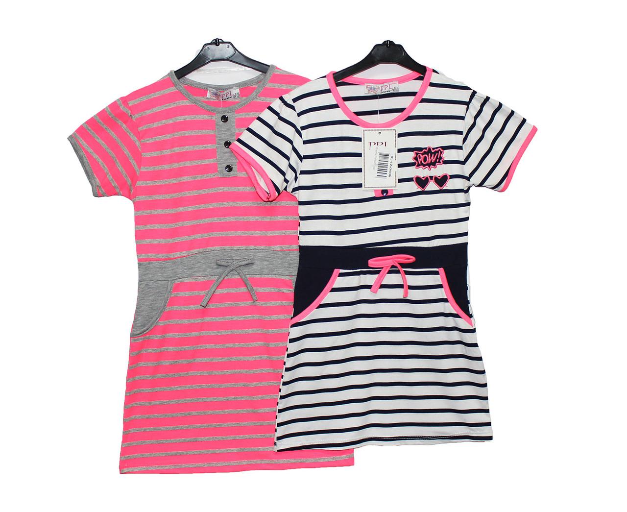 Платье детское подростковое трикотажное на лето PPL 150