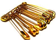 Булавки свадебные (№00/23mm/10шт) золотые, фото 1