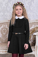 Школьное платье Suzie Лесли, цвет черный