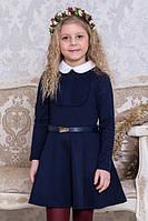 Школьное платье Suzie Лесли, цвет синий