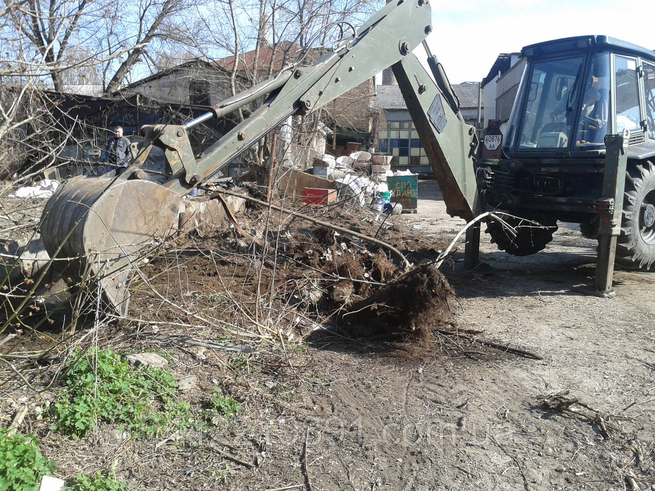 Расчистка участка под застройку Очистка участков от деревьев и кустов