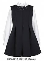 Школьный сарафан для девочки Sly 205A/S/17, цвет черный