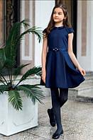 Школьное платье для девочки Sly 207/S/17, цвет синий