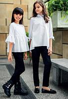 Школьные брюки  Sly 402/S/17, цвет черный р.128