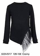 Реглан для девочки Sly 502A/S/17, цвет черный