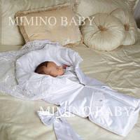 Конверт на выписку утепленный Mimino Сладкий Сон, цвет белый