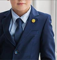 Классический школьный костюм для мальчика Lilus 217/2, цвет синий р.34 - 140