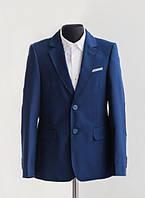 Классический школьный костюм для мальчика Lilus 217/2Нх, цвет синий