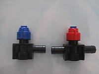 Форсунка полевого опрыскивателя под скобу ( клапан отсекателя снизу)