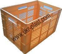 Ящики пластиковые хлебный 600 x 400 x 350 вторичный