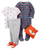 Подарочный набор, комплект для новорожденного Carters,9мес.