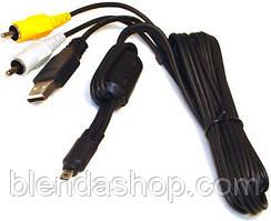Кабель (шнур) AV/USB UC-E6 - аудіо-відео USB - кабель для камер NIKON