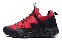 Мужские кроссовки Nike Huarache Utility Red (Найк Аир Хуарачи) красные